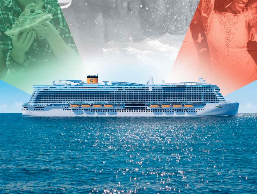 Costa - Золоті лайнери